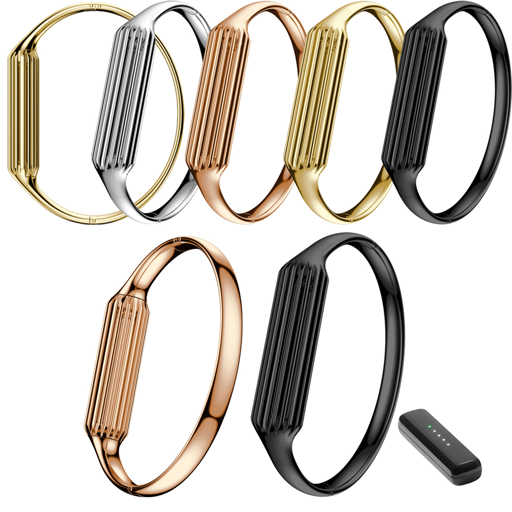 Hot Accessory Genuine Stainless Steel Watch Band Luxury Smart Wrist Strap Bracelet Bangle For Fitbit Flex 2 Silver Black Gold stainless steel watch band for fitbit charge 2 wrist strap band bracelet link watchband smart wristband accessory for charge2