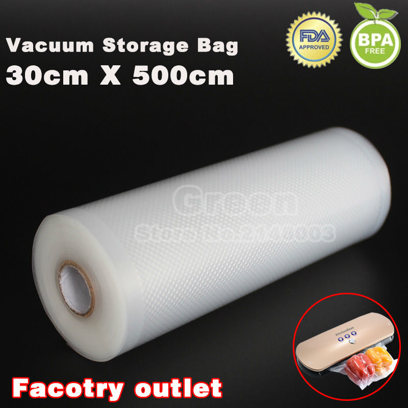 (5 Rolls/ Lot ) 30cm x 500cm  KitchenBossVacuum food bag for kitchen vacuum storage bags packing film keep fresh up to 6x longer jewish soul food from minsk to marrakesh more than 100 unforgettable dishes updated for today s kitchen