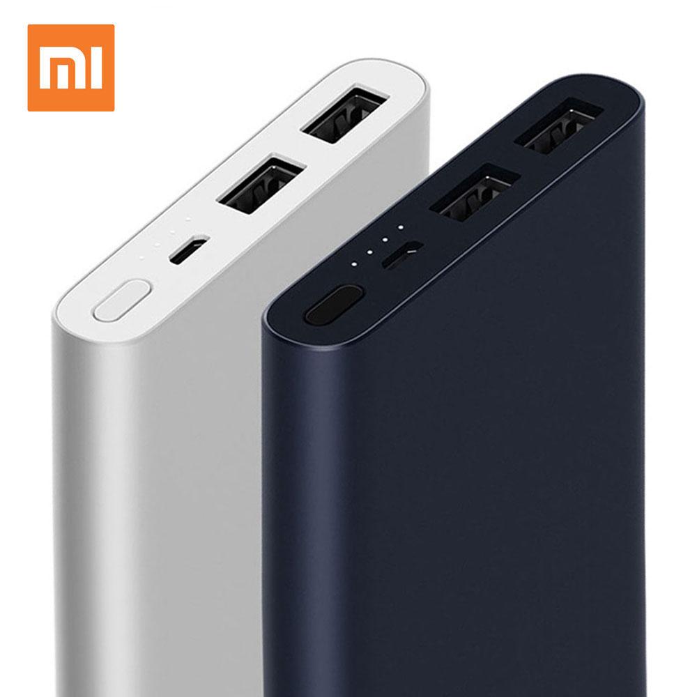 Xiaomi Power Bank 2 10000mAh Mi Powerbank Quick Charge External Battery Micro USB Portable Bateria External Portable Charger