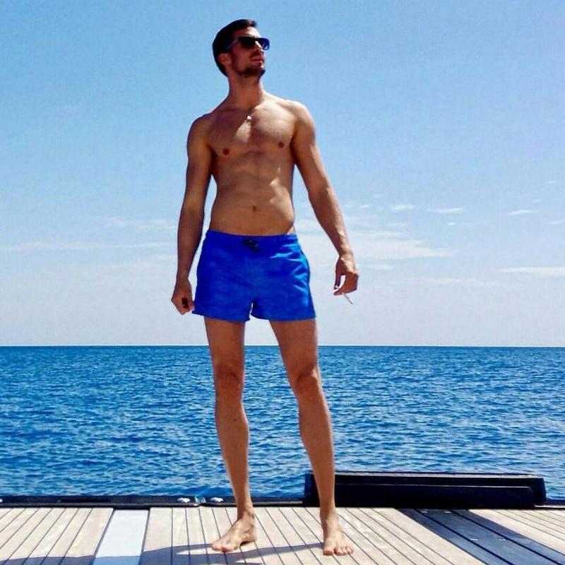 Gailang Brand Fashion Men Beach Board Shorts Troncos de secado - Ropa de hombre - foto 4