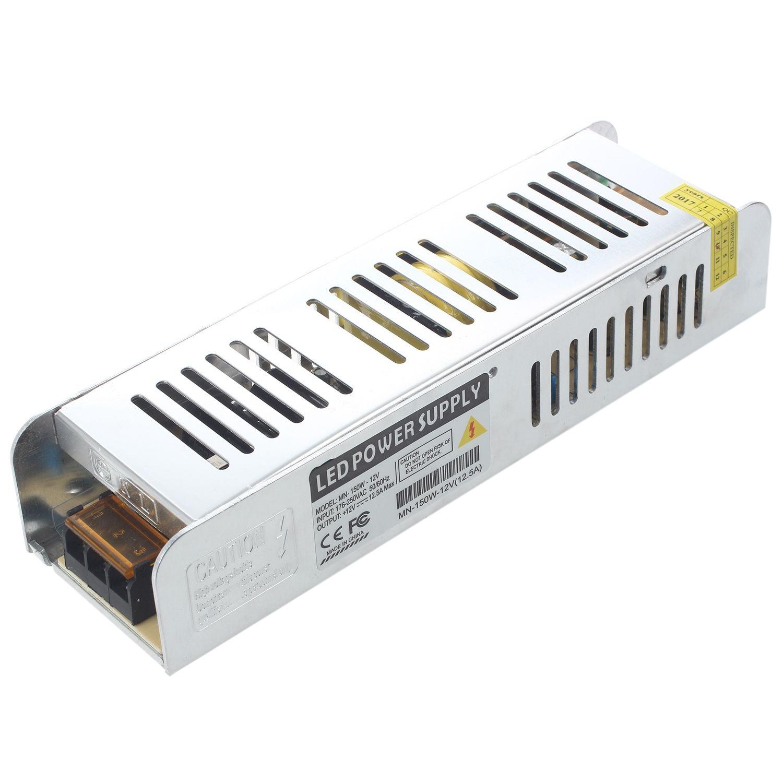 AC85-265V/220V TO DC12V Transformer 150W Switch Power Supply Size:150W 12.5A psmn020 150w to 247