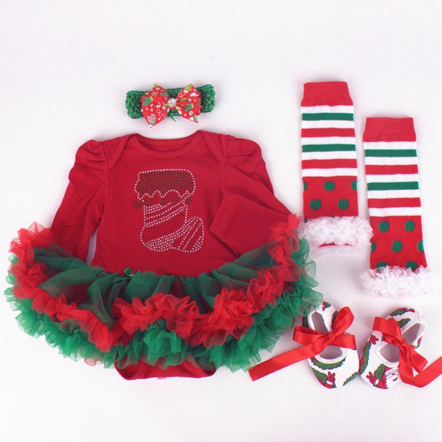 Newborn Christmas Outfit Girl.Baby Girl First Christmas Clothing Set 20 Designs