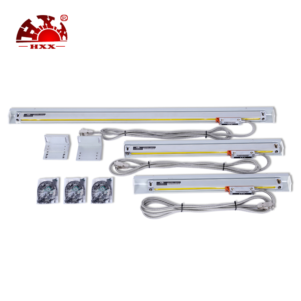 HXX high accuracy measuring instrument digital linear scales 50-1000mm linear glass scales for Milling/lathe hxx high precision multifunction new dro set gcs900 2da and 2 pc linear glass scales 5u gcs898 50 1000mm for machines