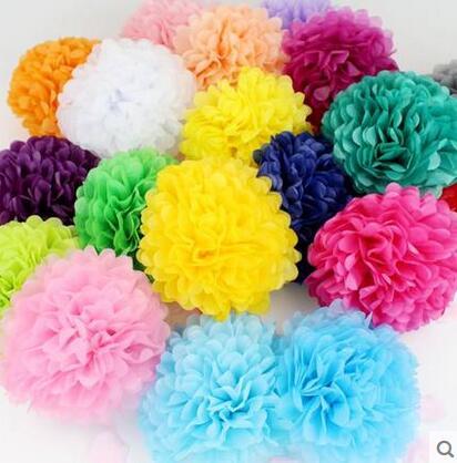 Aliexpress Buy Diy Wedding Decoration Paper Pompoms 40pcs 40cm Extraordinary Tissue Paper Flower Ball Decorations