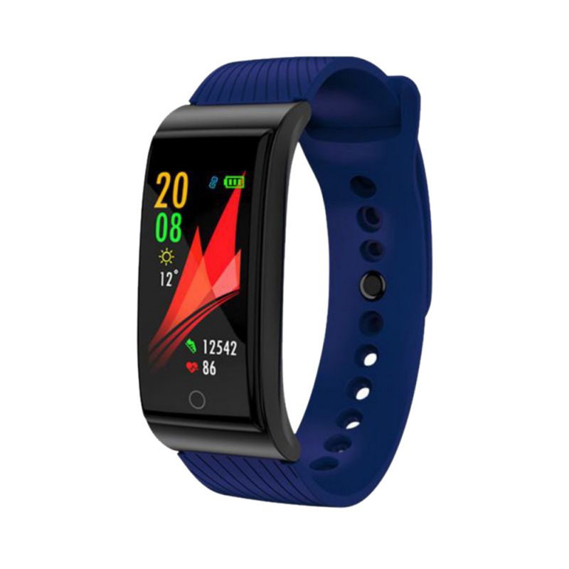 F4 Fashion Smart Color Screen Bracelet Blood Pressure Heart Rate Monitor Men And Women Fitness Sports Tracker WatchF4 Fashion Smart Color Screen Bracelet Blood Pressure Heart Rate Monitor Men And Women Fitness Sports Tracker Watch