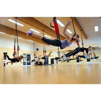 New Pilates Suspension Elastic Sling Practice Pull Rope Bungee Workout Trainer Cord Resistance Hanging Training Straps