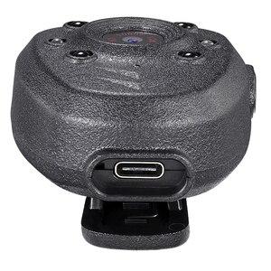 Image 5 - HD 1080 P משטרת גוף דש וידאו מצלמה DVR IR הלילה גלוי LED אור מצלמת 4 שעה שיא דיגיטלי מיני DV מקליט קול 1