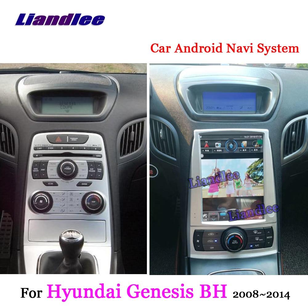 Liandlee Android For Hyundai Genesis Coupe BH 2008 2014 Stereo Radio Carplay Parking Camera TV BT