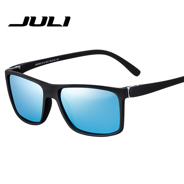 6860cf27a8b5f JULI Brand HD Polarized Sunglasses Men Male Polaroid Sun Glasses Brand  Design Fishing Sport Sunglasses Goggle Classic Eyewear