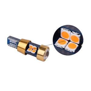 Image 4 - 100 Uds., 12 V 24 V T10 Canbus 19 SMD 3030 sem erros Nao polaridade Spot 168 W5W 194, Licenca De coche De Estacionamento lámpara luz Est