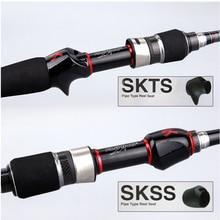 KUYING Leadership 1.92m 2.16m 2.19m 2.28m 2.7m Spinning Casting Lure Fishing Rod Pole Stick Carbon Cane FUJI Parts Medium Fast