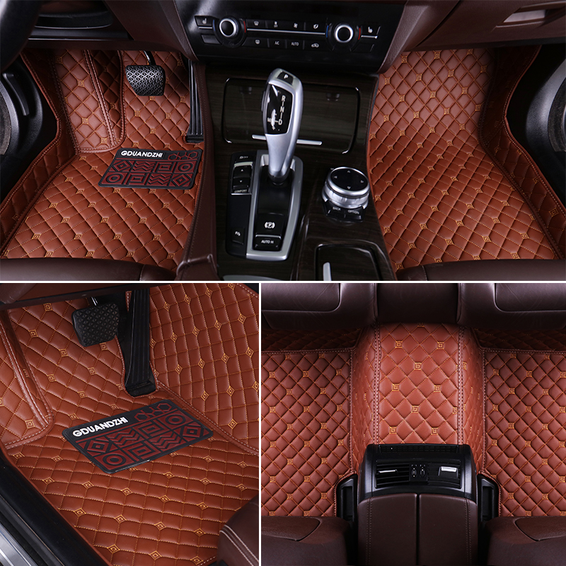 Custom Full Covered Waterproof Carpet Durable Special Car Floor Mat For NISSAN PATROL JUKE X-TRAIL MURANO SUNNY TIIDA SYLPHY