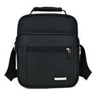 New 2017 Men Bags Fashion Handbags Cross Body Messenger Shoulder Bag for Men Business Travel Canvas Oxford Back Pack