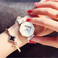 Reloj Mujer Fashion Stainless Steel Women Watches Quartz leather Casual  Women Diamond Watches  Luxury Lady Clock Free Shipping