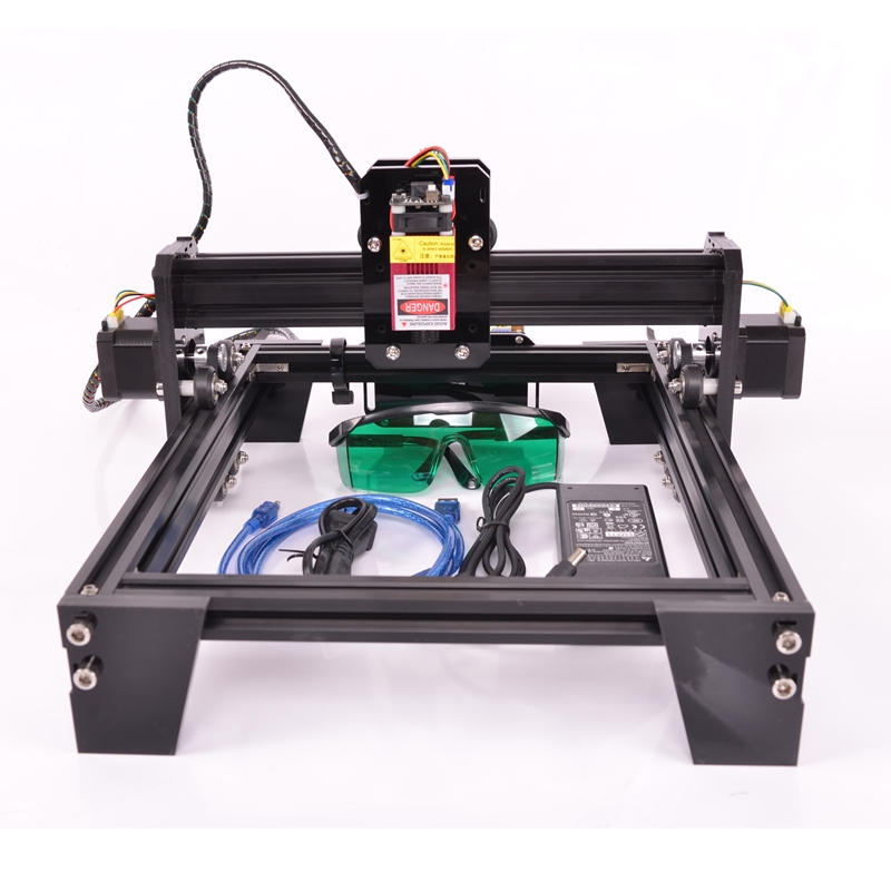 DIY Laser Engraving Machine Small Marking Machine Graphic Desktop Cutting Plotter Laser Cutting Machine Multi-function Customiza