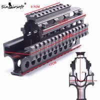 SINAIRSOFT Yugo M70 AK Quad Rails per AK 47/74 di Caccia di Tiro Tattico Pistola Quad Rail Rail Mount con 6pcs coperture SA4057