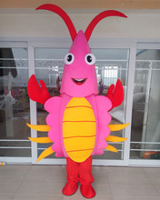 Factory Direct Sale New Halloween Red Lobster Mascot Costume Adult Size Fancy Dress Cartoon Costumes for Advertising Activities