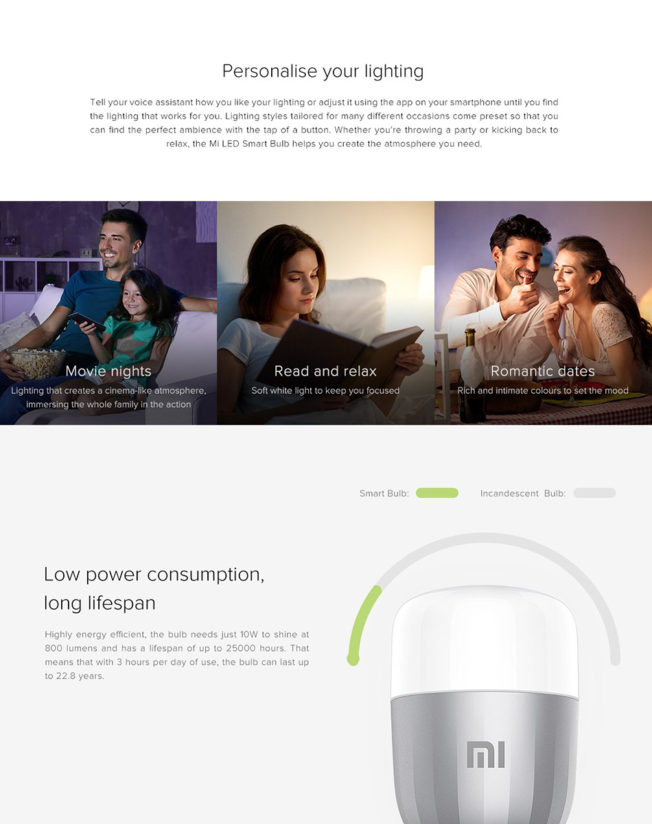 Xiaomi Mi Smart LED Smart Bulb Essential (White and Color) 7