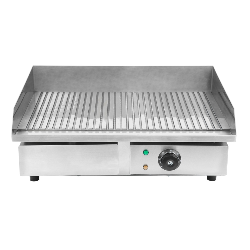 Ship from Germany! 3000W Electric Grill Griddle Commercial Machine Cooking Area Kitchen Food BBQ