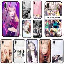 Fashion BLACKPINK kpop collage Glass Phone Cover for Huawei Honor 9 Lite Case 10