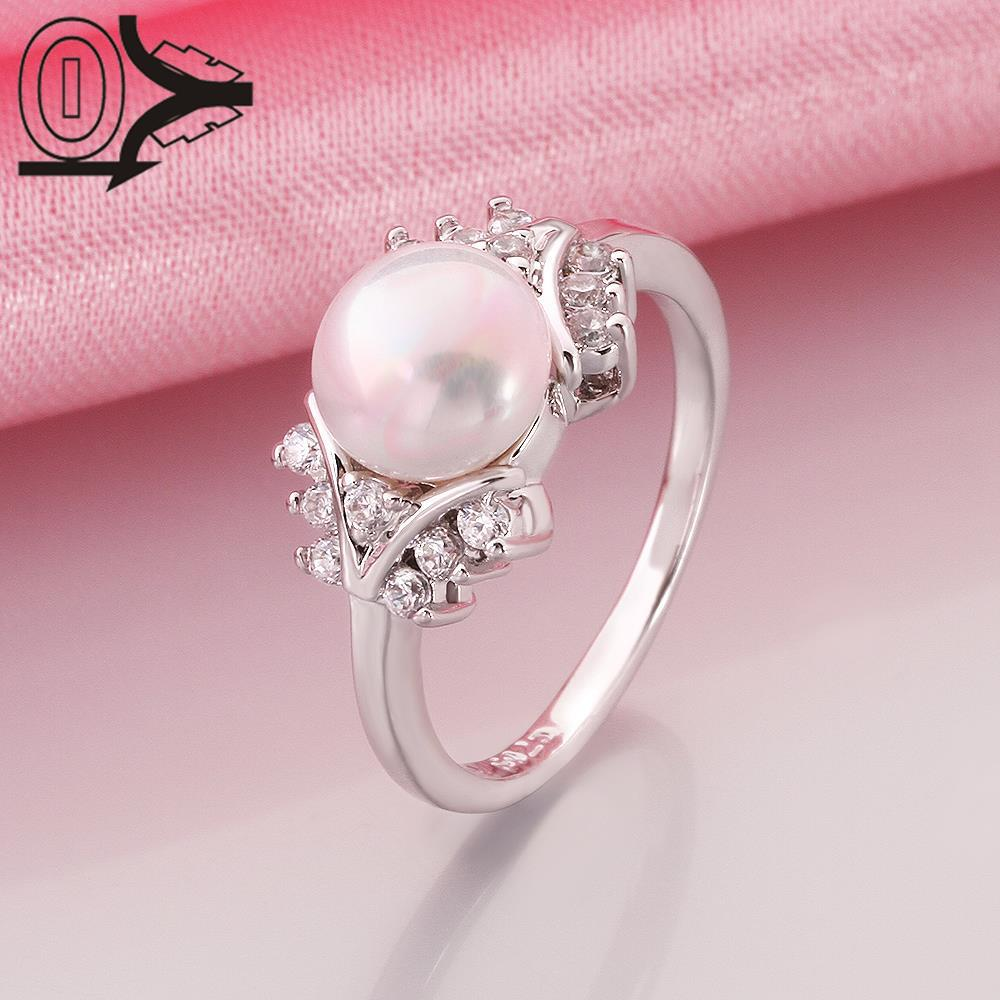 R015 8 Wholesale Latest Imitation Pearl Ring Designs For Women ...