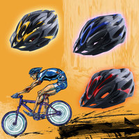 사이클링 헬멧 65 cm 조정 가능한 초경량 레드/옐로우/블루 자전거 unisex bike shockproof road with visor nas
