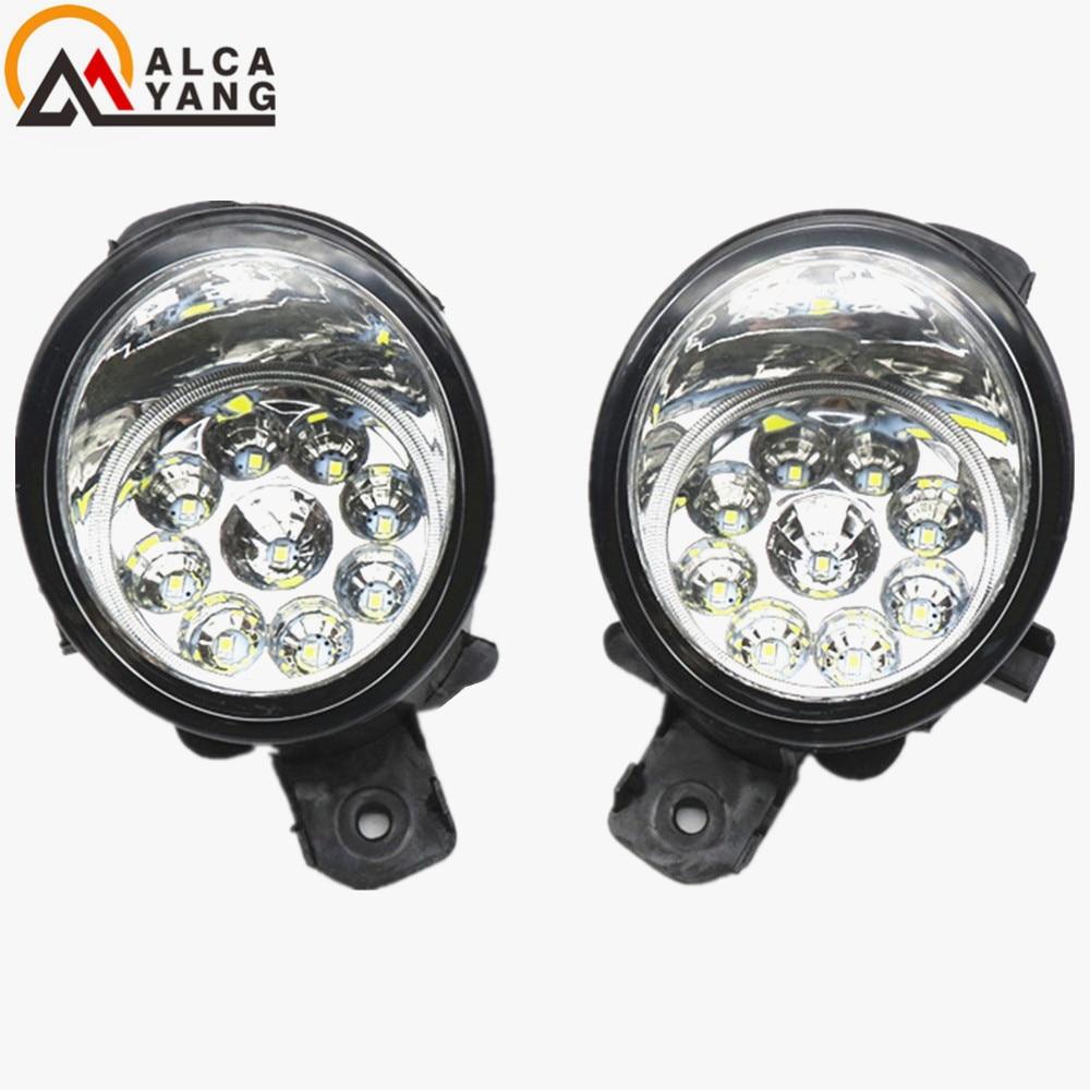 Malcayang LED / Halogen Fog LIGHT Lights For Renault SYMBOL (LB0/1/2_) Saloon CLIO VEL THALIA MODUS Hatchback 1998-2015 symbol 1 8 cd06