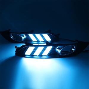 Image 5 - Carro piscando 1 conjunto para nissan sylphy sentra 2013 2014 2015 led drl luz de circulação diurna luz do dia à prova dwaterproof água lâmpada sinal