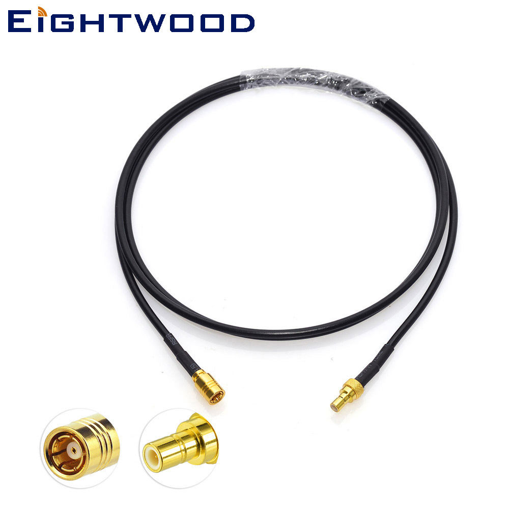 SMB Right Angle Cable 5m for Car Sirius XM Radio Antenna Extension Adapter Cable