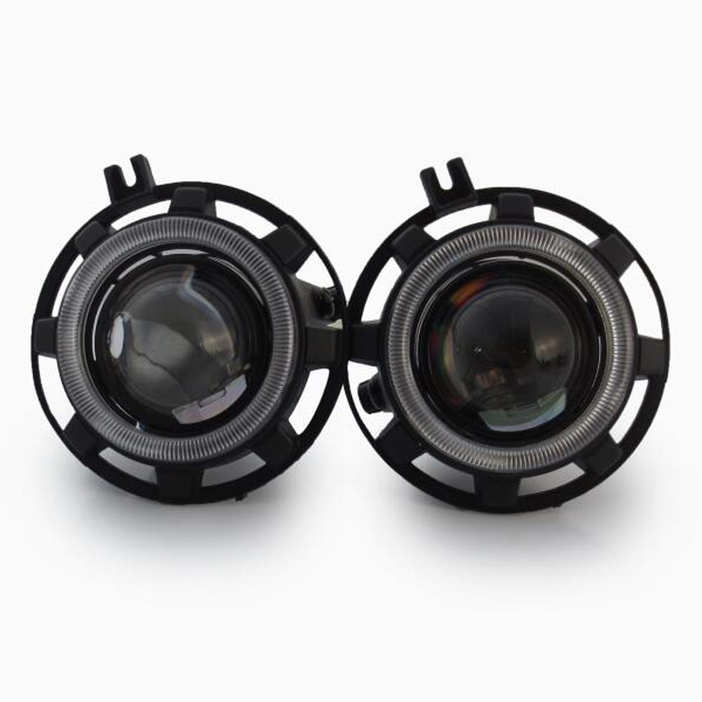 HID Bi-xenon Halogen Bifocal high low beam Projector Fog Lights lens Lamps holder for JEEP grand cherokee commander hireno headlamp for mercedes benz w163 ml320 ml280 ml350 ml430 headlight assembly led drl angel lens double beam hid xenon 2pcs