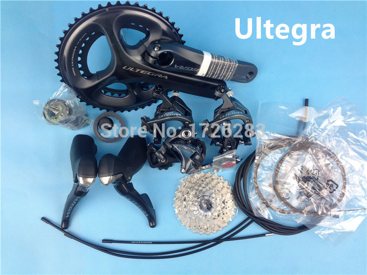 original shimano ultegra 6800 bicycle road groupset cycling derailleur 11s bike groupsets upgrated of 6700 free ship by ems запчасть shimano wh 6700 f y4fp98110