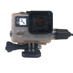 Image 2 - TUYU Diving Waterproof Case Charger Shell With USB Cable for  EKEN H5s H6s  H8R Accessories Motorcycle charging waterproof shell