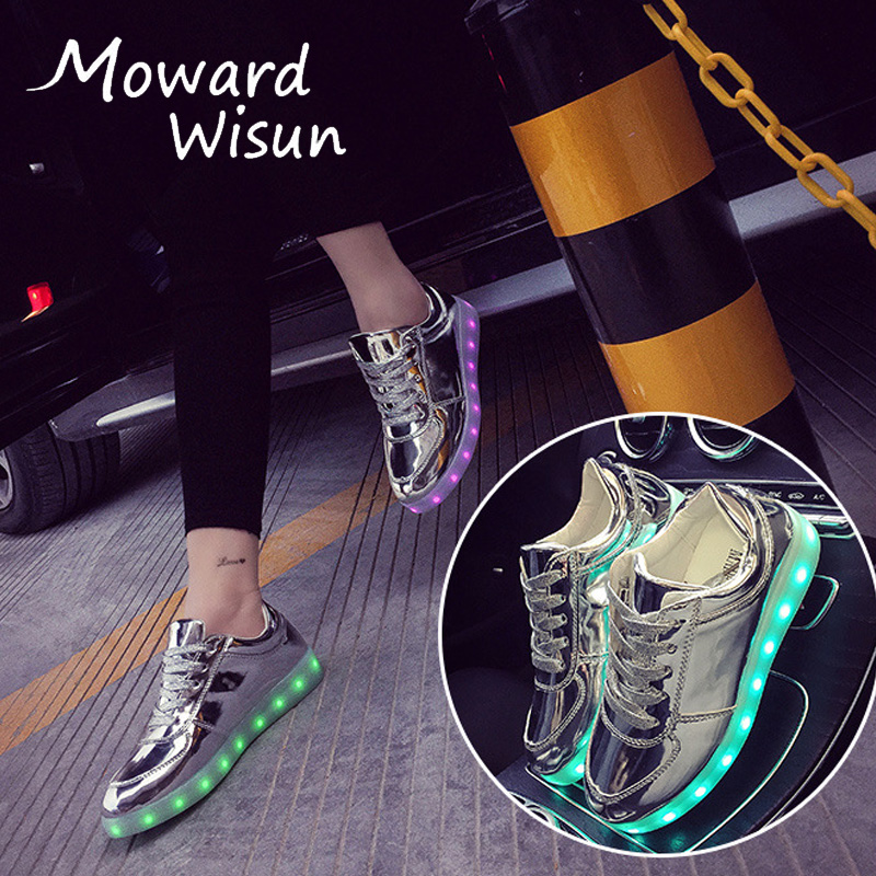 Sneaker Shoes In Light Up Basket 35Off With 22 Sole Glowing Usb Sneakers 26 Boy Us9 Lighting Charge New Luminous Led Slippers Children 2018 tsQrdxhC