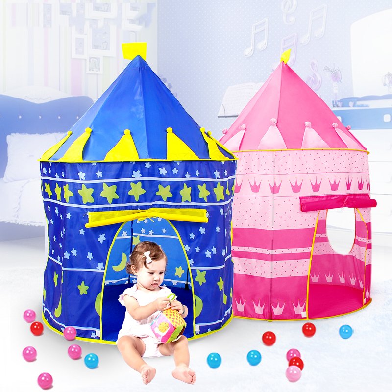 1Pcs Foldable Baby Pool-Tube-Tee pee Toy Tents Pop-up Play Tent Toy Children Play House Balls Pools Outdoor Baby Toy Tent