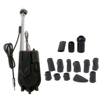 12V Universal Waterproof Car Auto AM FM Radio SUV Electric Power Adjustable Cable Length Automatic Antenna Aerial qyh