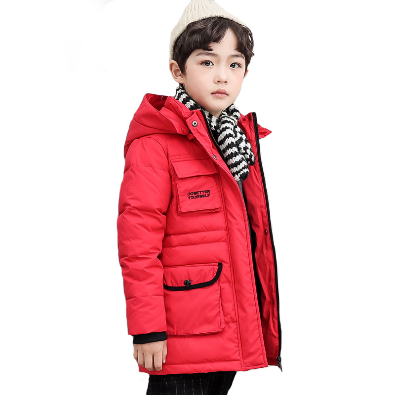 Children Boys Parka Clothes 2018 Kids Girls Winter Jacket with Fur Collar Long Warm Hooded Cotton Coats Big Size 8 10 12 14 Year for ipad mini 2 new lcd display panel screen replacement repairing parts free shipping