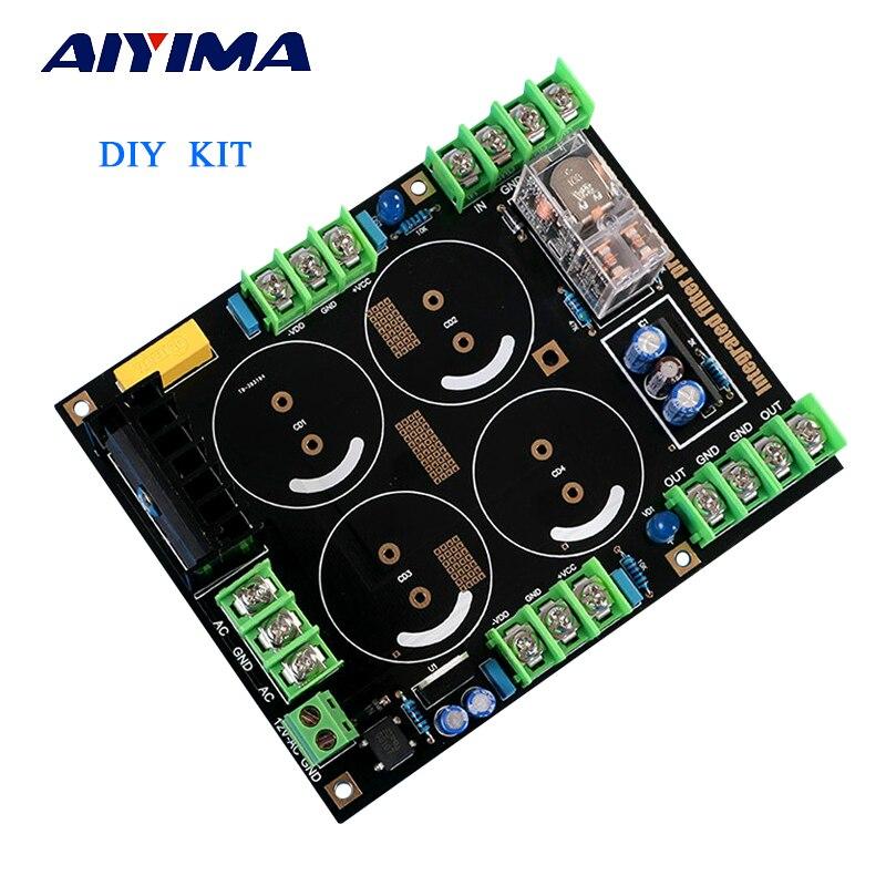 Aiyima усилитель выпрямителя фильтра Питание доска Динамик защиты выпрямителя фильтра DIY Kit