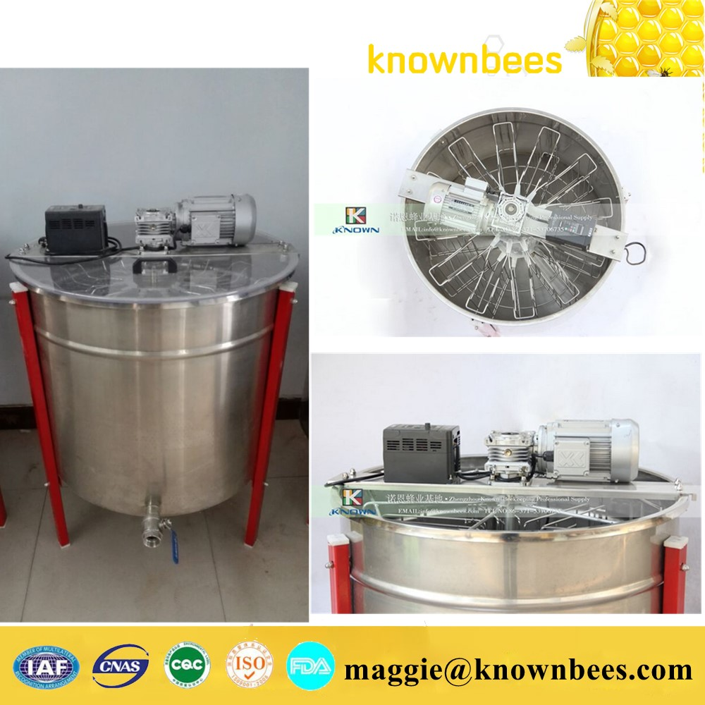 Factory price 12 frames electric used honey extractor with stainless steel