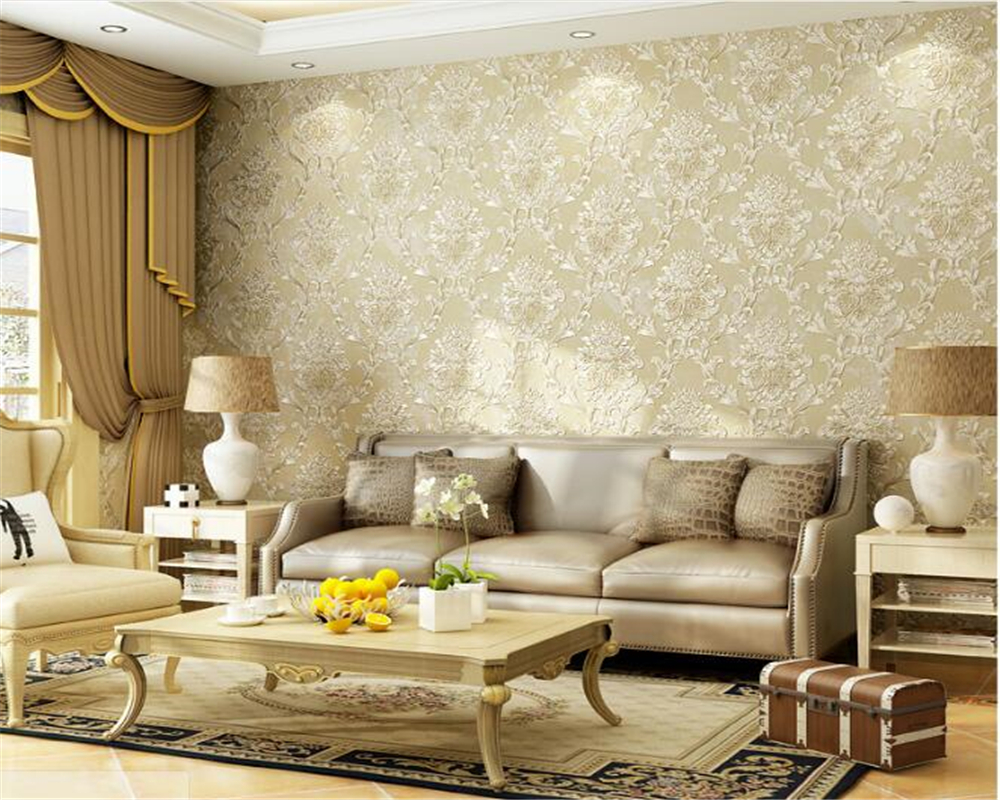 beibehang papier peint Fashion personality relief 3D nonwoven wallpaper living room bedroom stereo sofa TV background wallpaper