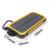 Solar Li-polímero Banco de la Energía 12000 mah Dual USB Cargador Portátil de Batería Externa Para El teléfono Móvil tabletas