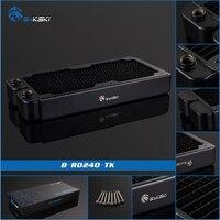 Geniune Bykski BY RD240 TK 240mm Single Row Radiator 38mm Thickness Standard Water Cooling Radiators Compatable