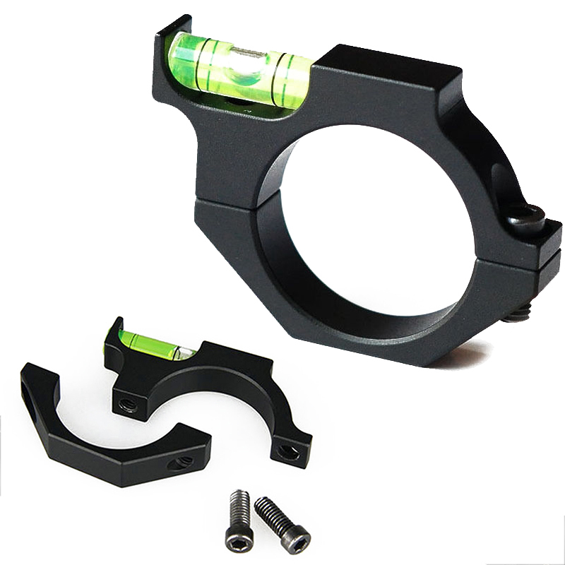 Hunting Accessories 25.4mm 1'' Ring Gun Spirit Level Bubble Mount For Scope Laser Sight Rifle Tube Army Equipment