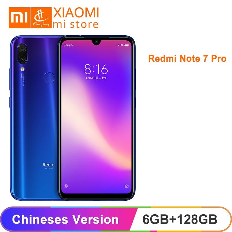 "Global ROM Xiaomi Redmi Note 7 Pro 6GB 128GB Note7 Snapdragon 675 Octa Core 48MP+5MP Dual Camera 6.3"" 4000mAh Smartphone"