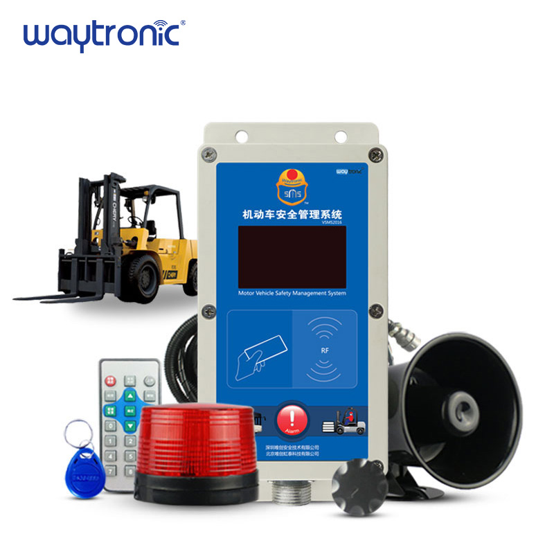 Electric Diesel Forklift Speed Limiter Overspeed Alarm Fleet Safety Management Speed Alarm System IC Card Access Control