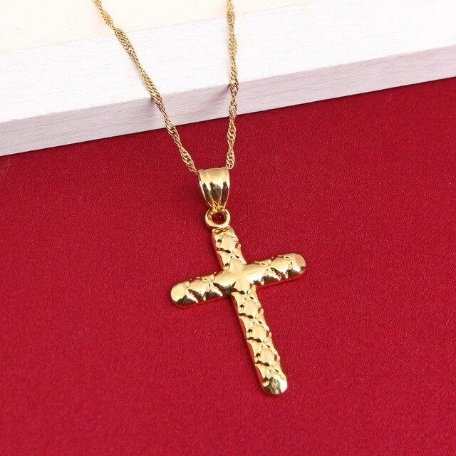 Jesus cross pendant necklace fashion christian crucifix 24k jewelry jesus cross pendant necklace fashion christian crucifix 24k jewelry men religious cross pendant russia greece aloadofball Images