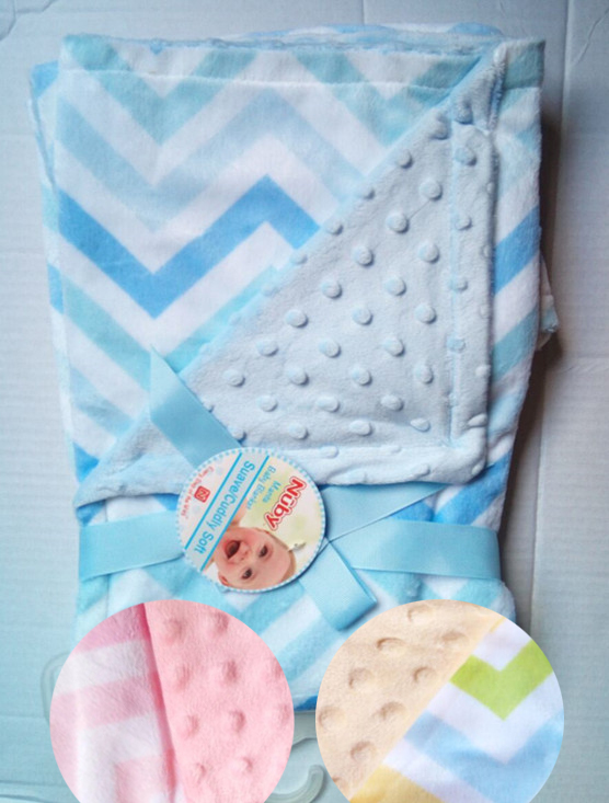 NEW BABY BOYS GIRLS BLANKET GIFT BOXED,DOUBLE LAYER SOFT SHERPA WRAP,OWLS CARS