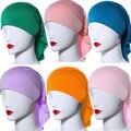 Islámica Musulmán Suave Modal de Alta Elasticidad de las mujeres Hijab Islámico Bufanda Headwear