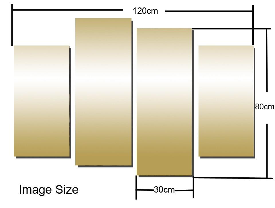 Кадр 4 панелі сучасний вид на море - Домашній декор - фото 5