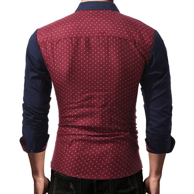 Mannen shirt 2019 zomer nieuwe mode casual lange mouw mannen - Herenkleding - Foto 5