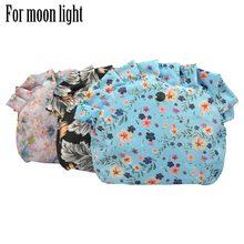 Forro impermeable de tela de sarga de colores para bolso O, bolsa de luz lunar, organizador de bolsillo impermeable para luna y bebé, novedad de 2019